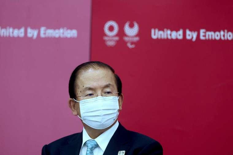 武藤敏郎:不排除東奧最後一刻取消的可能性 (圖片:AFP)