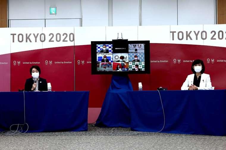 日本政府、奧委會組織、東京都以及國際奧會、國際帕林匹克委員會等五方可能再度開會。(圖片:AFP)