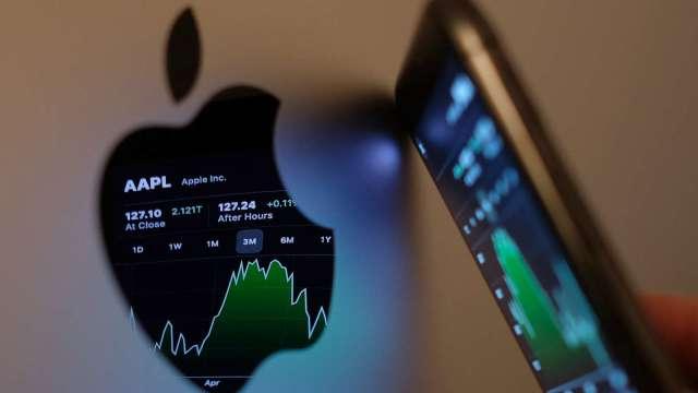 蘋果影音串流業務跨大步 傳有意在好萊塢租賃大型片廠(圖片:AFP)