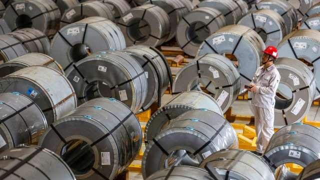 續推保供穩價 中國計畫7月下旬投放第2批銅鋁鋅國家儲備 (圖:AFP)