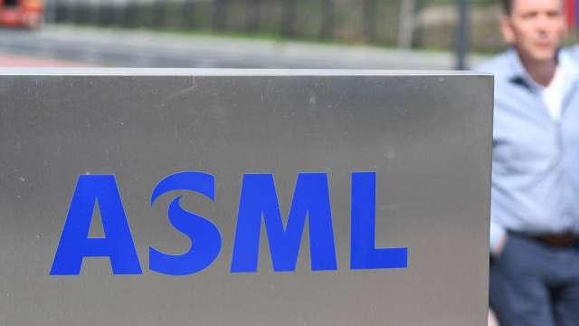 需求比預期強勁 ASML上調今年營收年增幅至35%。(圖:AFP)