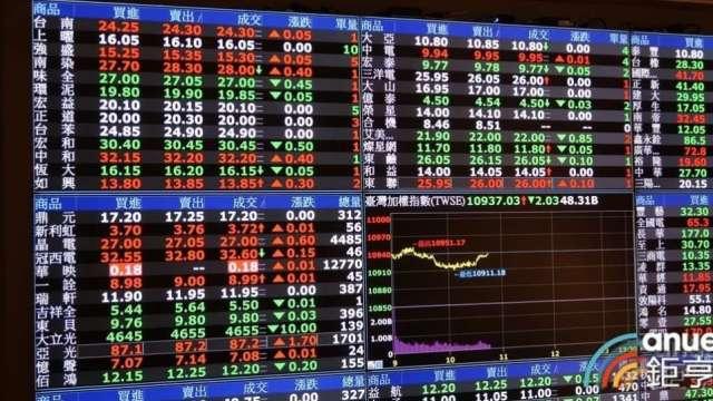 台股攻上「萬八」券商豐收  單月大賺133.85億元、月增1.8。(鉅亨網資料照))