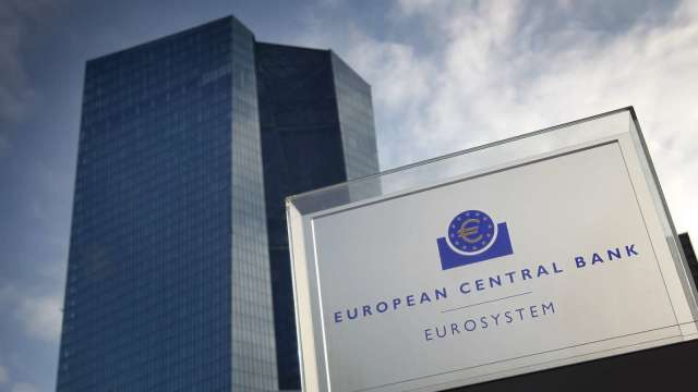 ECB維持貨幣政策不變 將中期通膨目標定於2% 允許適度超標 (圖:AFP)