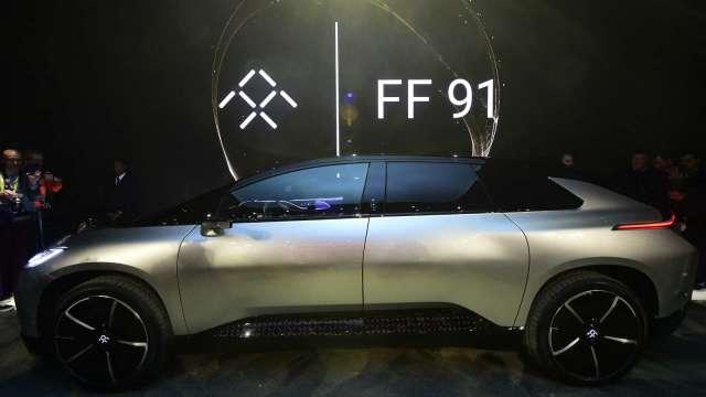 法拉第未來CEO:FF 91未來2年銷量上看4萬台。(圖:AFP)