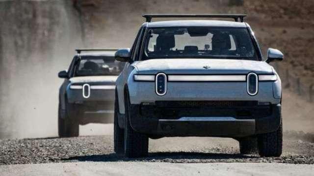亞馬遜支持電動車新創Rivian再擴一廠 擬生產電池(圖:AFP)