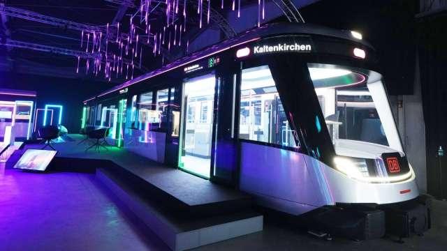 友達智慧交通布局報捷,旗下達擎獲德國鐵路未來概念列車導入。(圖:友達、德國鐵路公司提供)