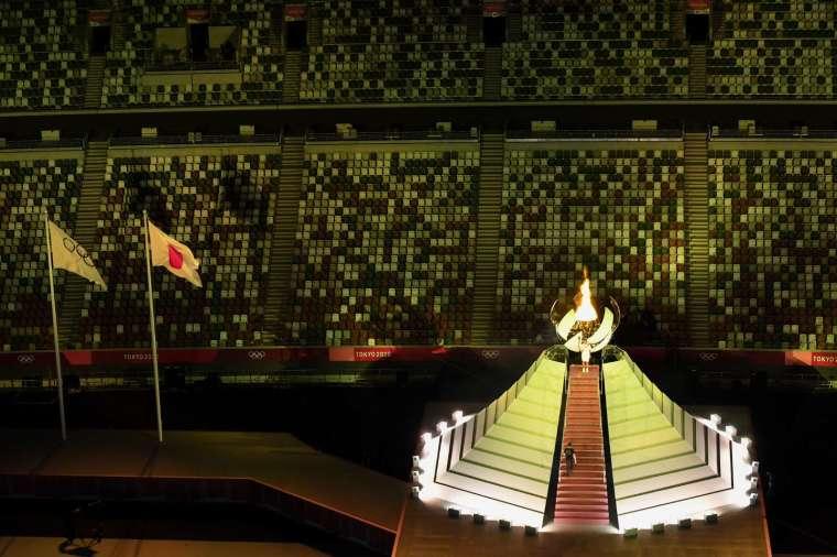 日本東京奧運週五累計奧運相關人員染疫破 110 例。 (圖片:AFP)