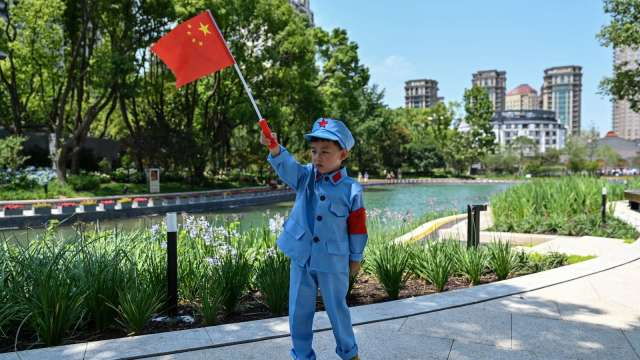中國教育股快成壁紙!新東方、好未來、高途ADR全數腰斬。(圖片:AFP)
