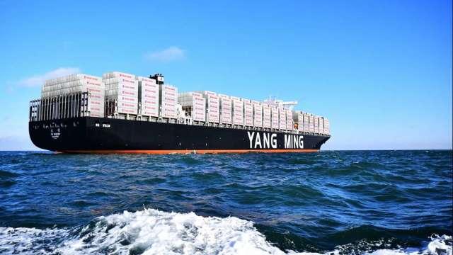 外界關注海運運價高漲態勢能延續至何時。(圖:陽明提供)