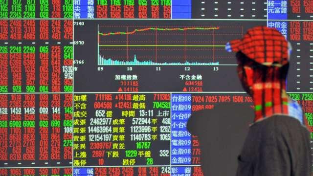 坐5搶6望7 金融扮伏兵 電子別當拖油瓶。(圖:AFP)