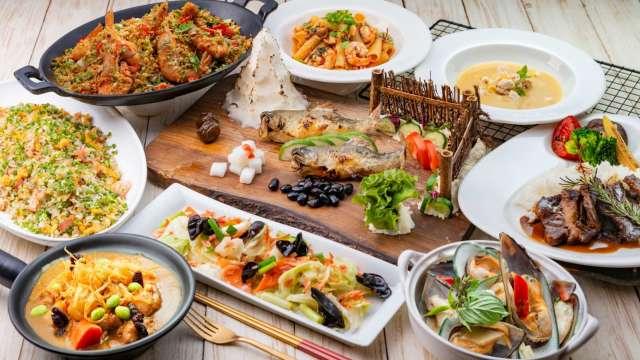 漢來海港餐廳調整取餐方式以因應疫情。(圖:漢來美食提供)