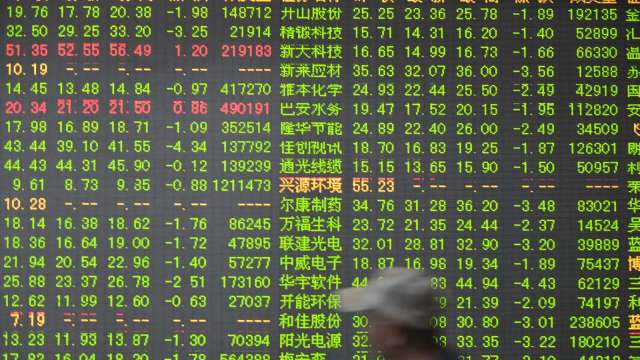 風雨生信心 中國官媒齊聲推A股(圖片:AFP)