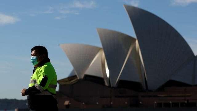 澳洲疫情兩樣情 新南威爾斯州恐延長封城 維多利亞州放寬規定 (圖片:AFP)