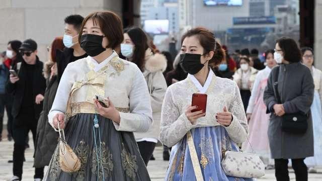 南韓單日確診創高 正值暑假加上Delta病毒蔓延 未來恐再飆升 (圖片:AFP)