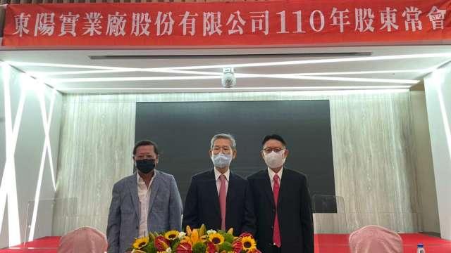 東陽集團總裁吳永祥(右)。(圖:東陽提供)