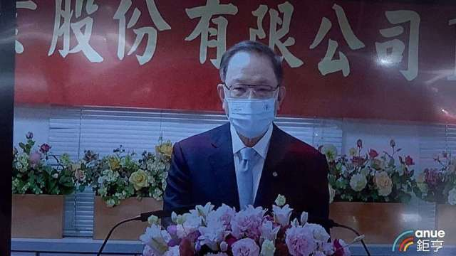 台塑董事長林健男。(鉅亨網記者林薏茹攝)