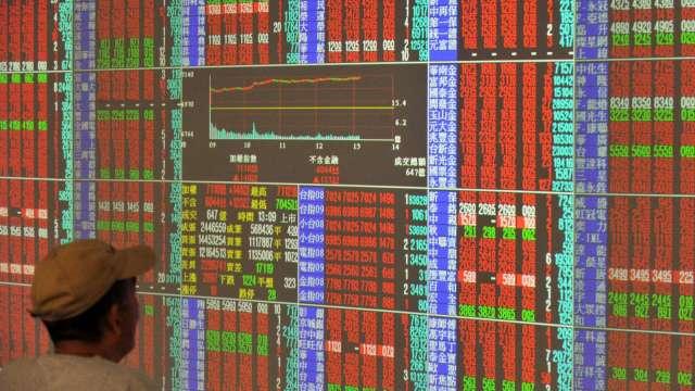台股今(29)日反彈重回萬七關卡。(圖:AFP)