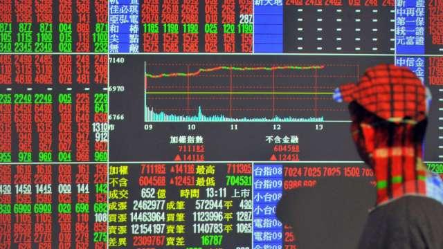 〈焦點股〉財報靚ADR飆漲 日月光創新高、聯電直逼漲停。(圖:AFP)