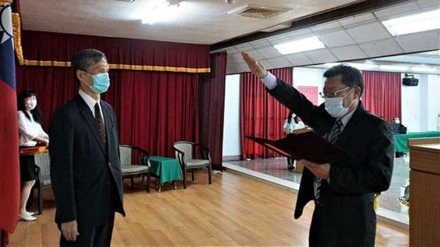 台水董座胡南澤續任,總經理由李嘉榮新任。(圖:台水提供)