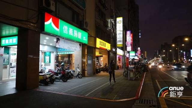 信義房屋:補償性買盤出現 台灣房市交易量月增55% 年減2成。(鉅亨網記者張欽發攝)