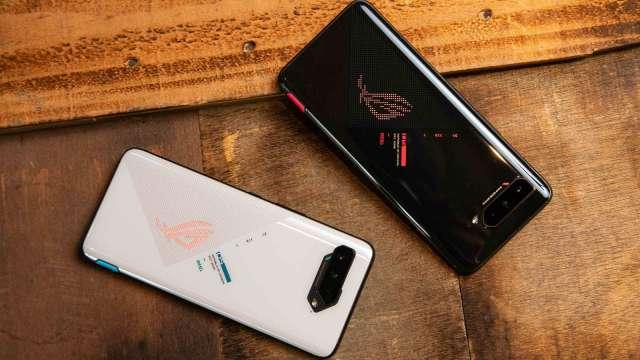 華碩電競手機ROG Phone 5奪Q2市占冠軍,今年銷量看增8成。(圖:華碩提供)