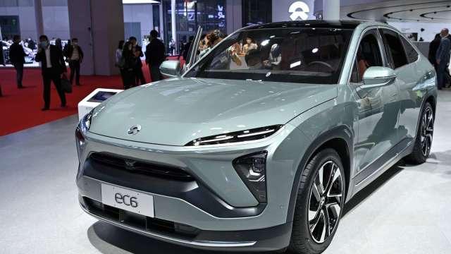 中國電動車7月交付量繳佳績 理想、小鵬、蔚來齊揚(圖片:AFP)