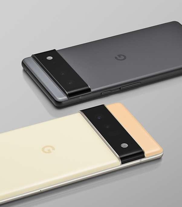 Pixel 6 系列外型設計顛覆以往 (圖片:Google 官網)
