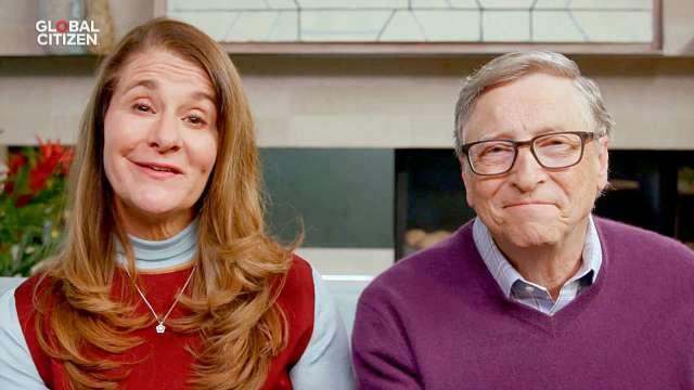 比爾蓋茲與梅琳達正式離婚 (圖片:AFP)