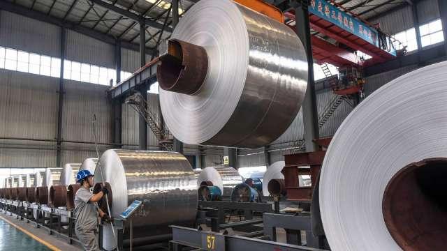 基期升高、需求減緩 中國鋼鐵業下半年成長趨緩(圖片:AFP)