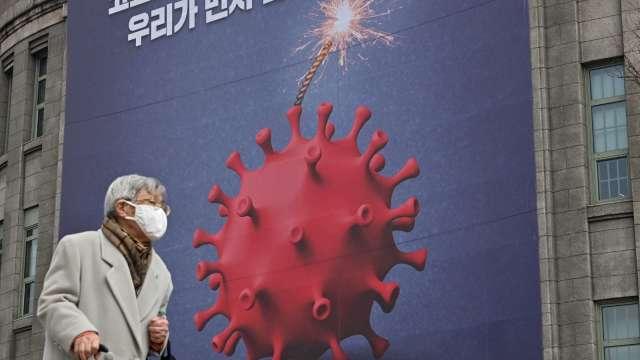 Delta Plus變種病毒入侵南韓 週二發現首例 (圖片:AFP)