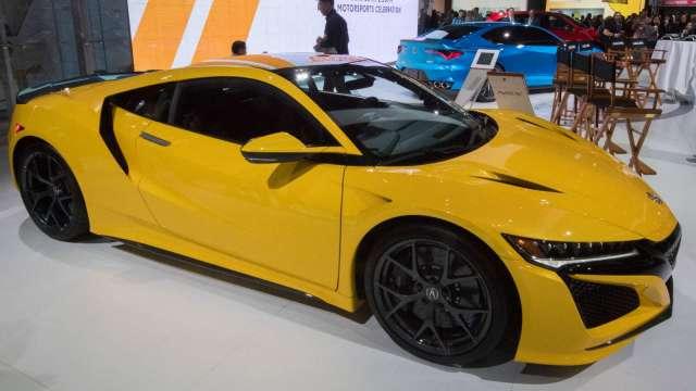 Honda超跑NSX將揮別車壇 未來跑車研發將走向電動化 (圖片:AFP)