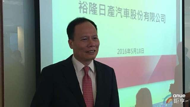 裕日車總經理蔡文榮。(鉅亨網資料照)