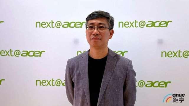 建碁新任董座暨宏碁數位顯示事業群總經理簡慧祥。(鉅亨網資料照)