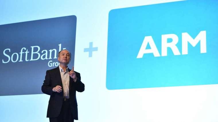 全球最大繪圖晶片廠 Nvidia 去年宣布將以400 億美元自軟銀手中買下英國晶片設計公司 Arm (圖片:AFP)