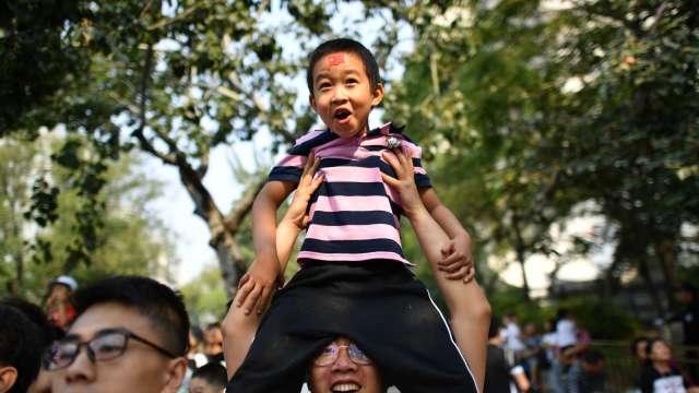 打網遊挺運動 中國推出五年全民健身計劃(圖片:AFP)