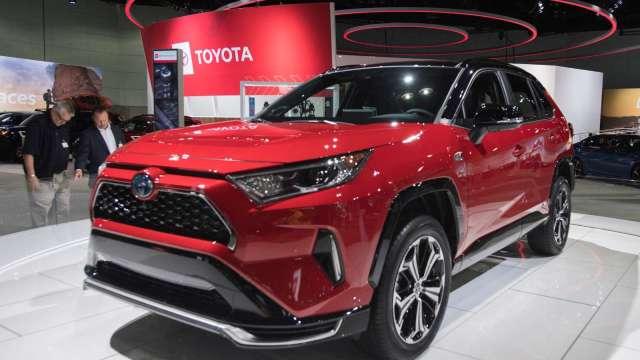 〈財報〉Toyota全球銷售暢旺 首季獲利創高 (圖片:AFP)