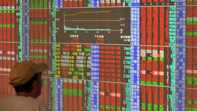 〈焦點股〉面板三虎躍台股人氣王 群創Q2報喜強攻漲停。(圖:AFP)