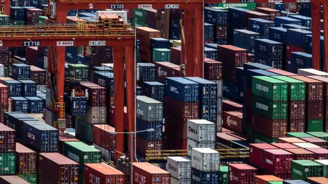 航運危機持續 「中國製造」產品遭遇新物流問題 (圖片:AFP)