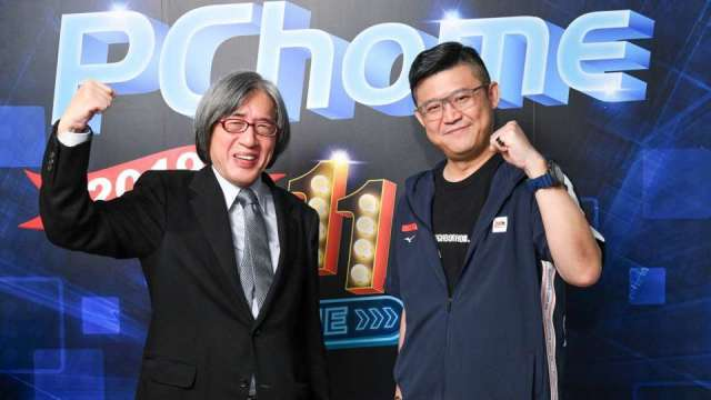 網家董事長詹宏志(左)和執行長暨總經理蔡凱文(右)。(圖:網家提供)