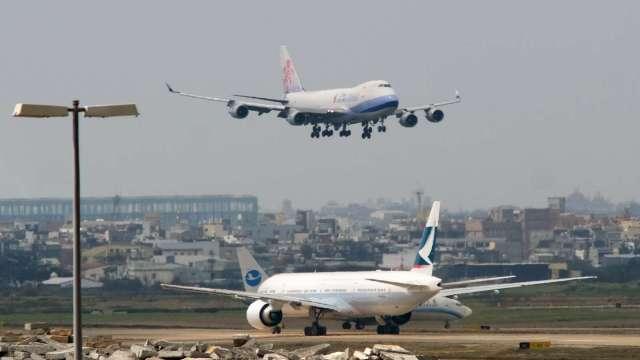 〈焦點股〉貨運價格漲聲響起 航空雙雄股價升空。(圖:AFP)