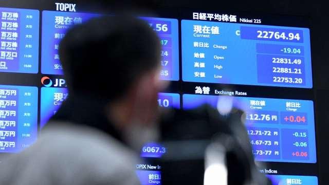 調查:日本創投基金報酬 高過TOPIX東證股票指數 (圖片:AFP)