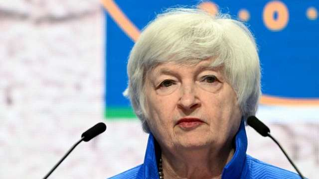 美國財長葉倫再呼籲國會提高舉債上限(圖:AFP)