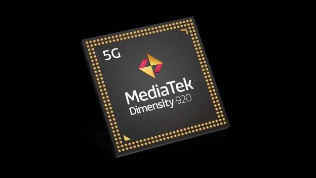 聯發科最新5G手機晶片天璣920系列。(圖:聯發科提供)