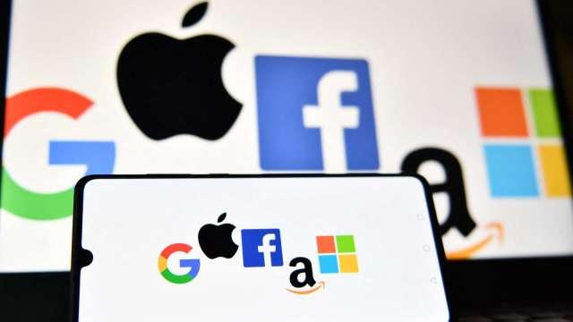美兩黨參議員提反壟斷新法 Google、蘋果App商店迎巨變(圖片:AFP)