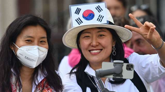 南韓首富換人當!白手起家富豪改變財閥獨大局面 (圖:AFP)