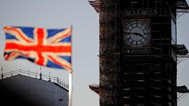 英國第二季GDP季增4.8% 符合市場預期(圖片:AFP)