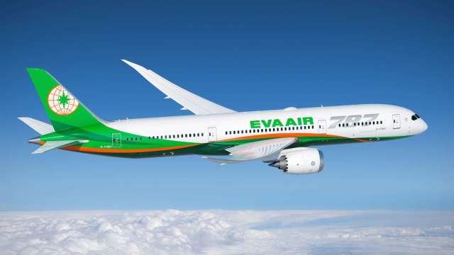 長榮航將調漲台灣-北美線空運運費。(圖:長榮航提供)
