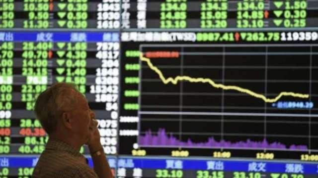 MSCI調降台股權重 金管會估外資流出僅60億元。(圖:AFP)