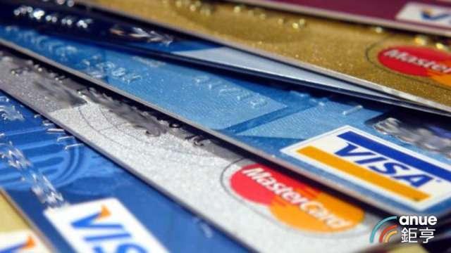 信用卡刷卡金額比疫情前大減千億元 「嗶」交通縮水救不了零接觸支付。(鉅亨網資料照)