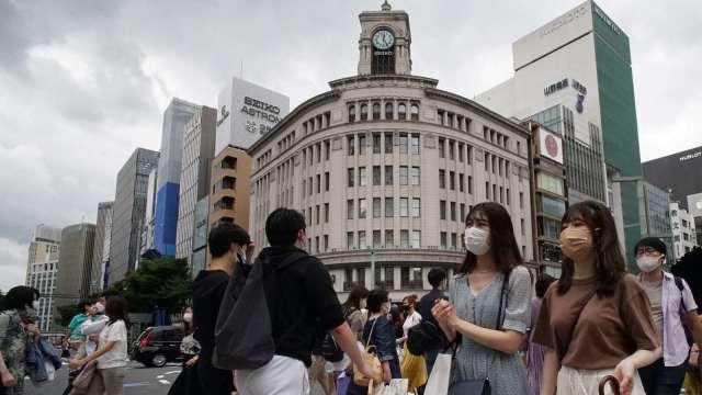 東京單日新增確診及重症人數再創新高 累計確診近27萬人 (圖片:AFP)